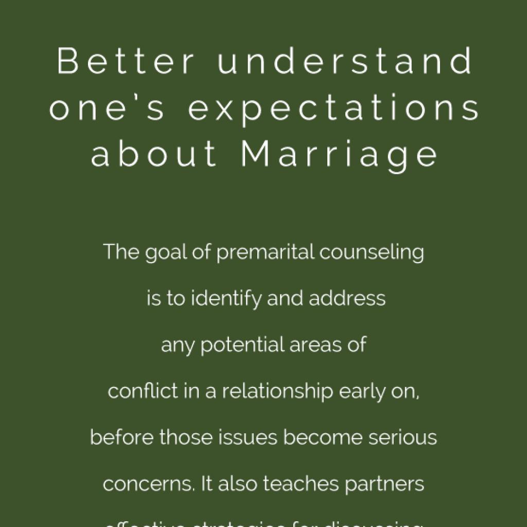 Pre-Marital