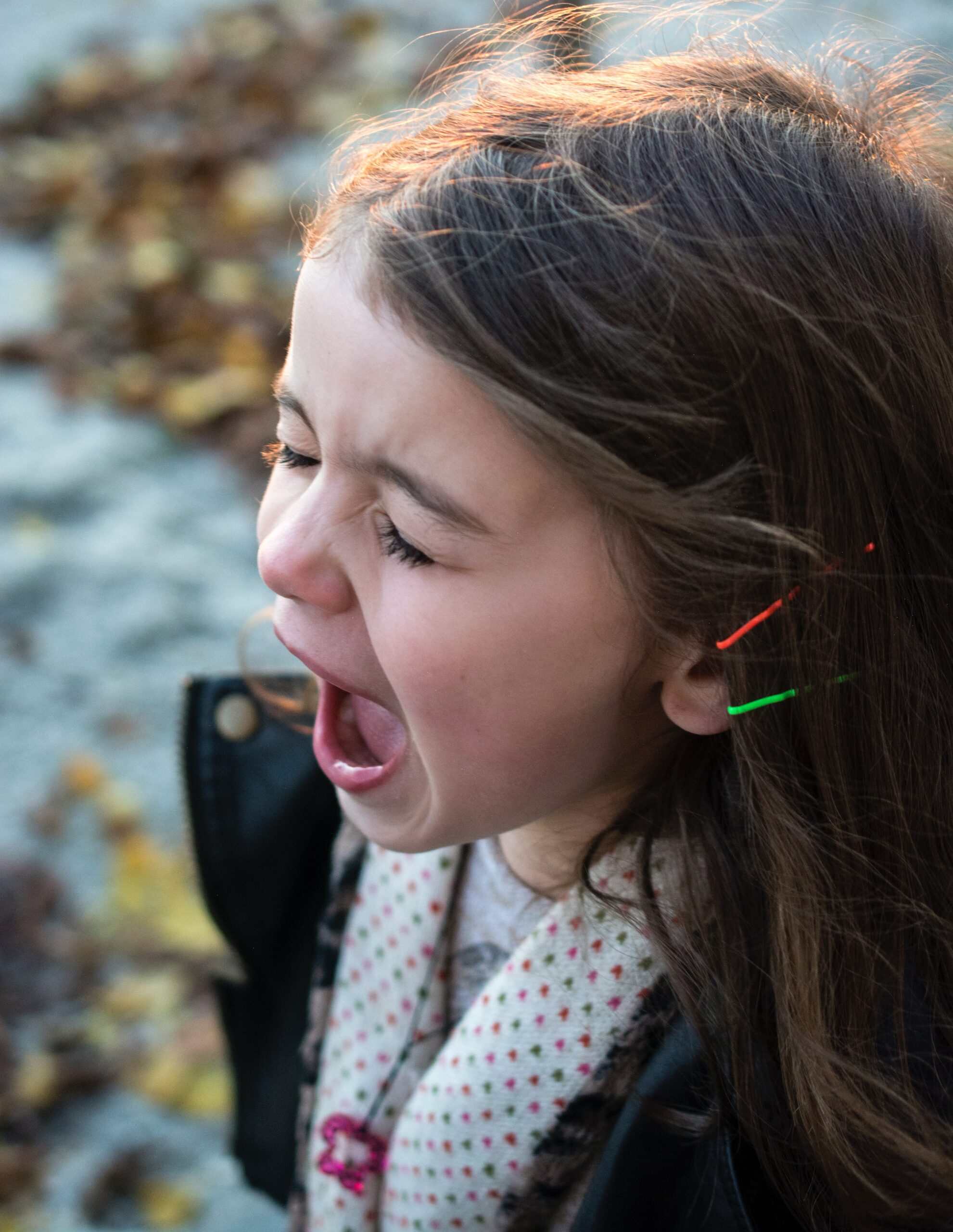 A child screams. We must find out why.