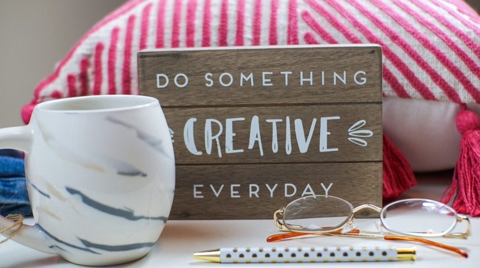 Boost your mood by doing something creative